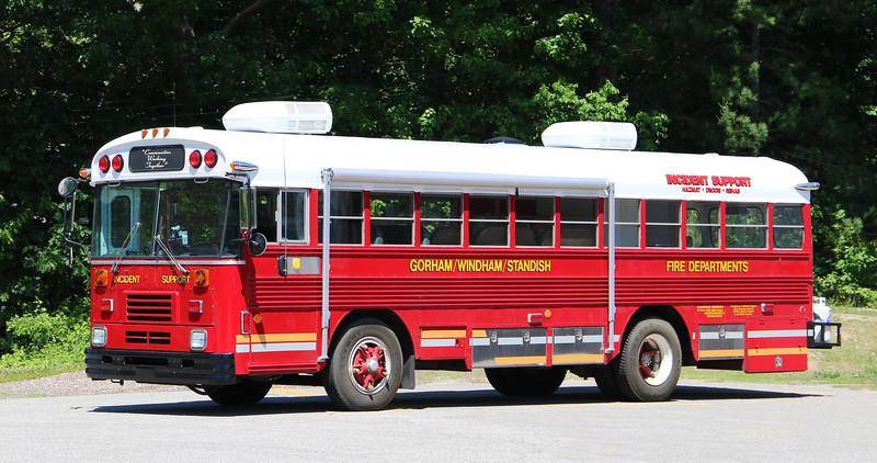 Incident Support.  1986luebird Bus