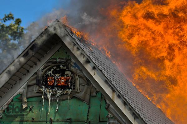 Pingree Grove Live Burn Training - June 30, 2012