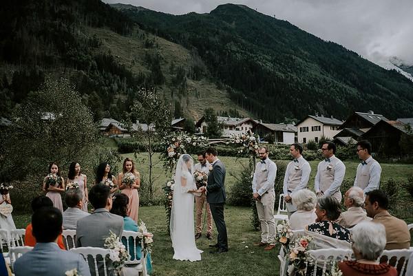 P + Y | Hochzeit in Chamonix, Französische Alpen