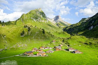 Lechquellengebirge - Kleinwalsertal 2 day circuit