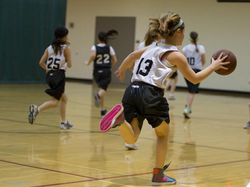 4th Grade Basketball 2-6-2010