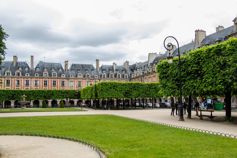 Paris--Marais district