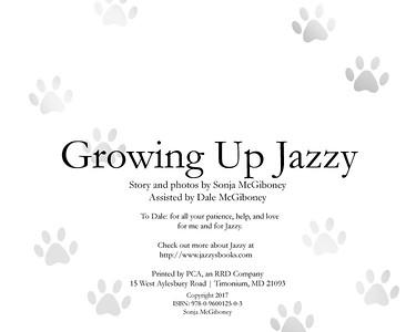 Growing Up Jazzy Printed Version