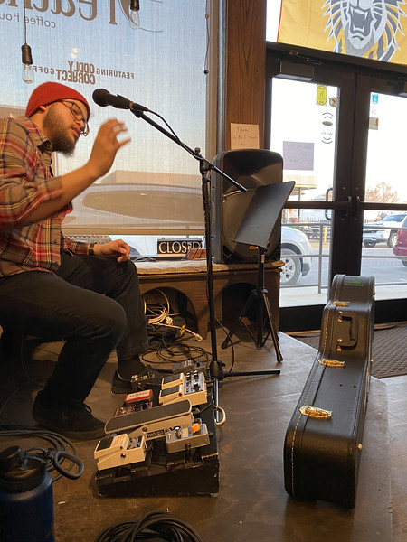 AB Lincoln at Breathe Coffee House