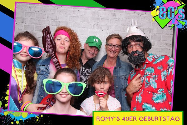 Romys 40ster Geburtstag 18.07.2020