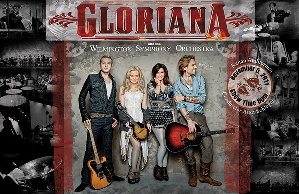 2011 Chords for a Cause Concert with Gloriana and the Wilmington Symphony Orchestra