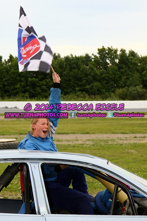 07/19/14 Evans Mills Feature Winners