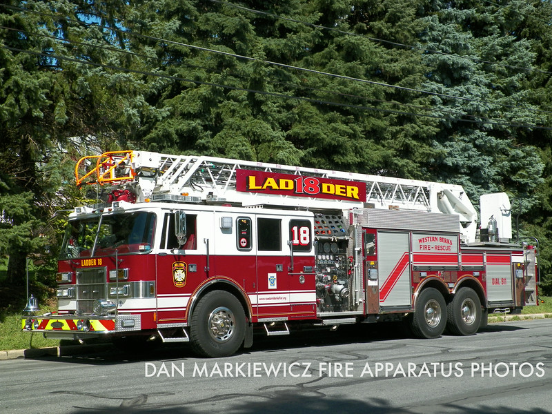 X-LADDER 18 1997 PIERCE AERIAL LADDER QUINT