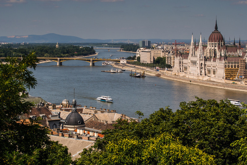 Parliament building by the Danube, Budapest