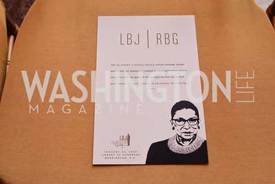 LBJ Foundation Honors Justice Ruth Bader Ginsburg