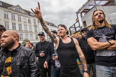 Metallica Warm Up @Horsens midtby