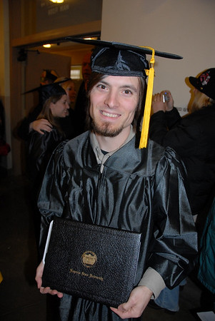 Joe Foster's Graduation (Emporia State University) 2007