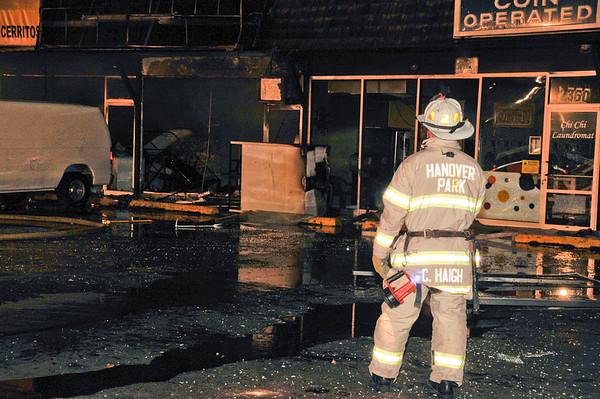 Hanover Park Oct. 10 - Laundrymat Explosion