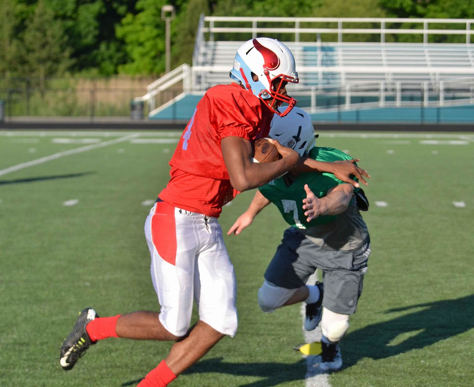 . Paul DiCicco - The News-Herald Action from News-Herald Senior Bowl practice June 12 and 13.