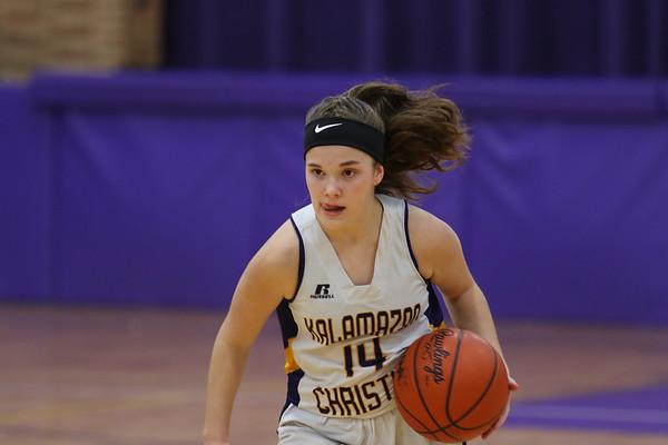 Basketball Girls JV vs Coloma KCHS 12/10/18