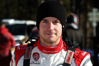 Ostberg m Andersson j 1er tests Citroen DS3 WRC
