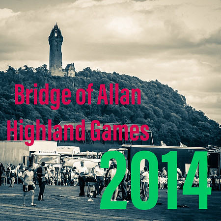 The 2014 Bridge of Allan Highland Games
