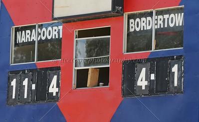 Match 1:  Naracoorte v Bordertown