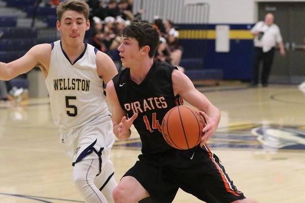 20 Boys Basketball:  Wheelersburg at Wellston 2017