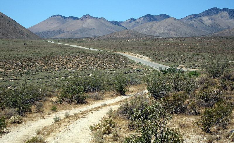 Southern Sierras: Highway 178 to Walker Pass. 19 Jun 2008