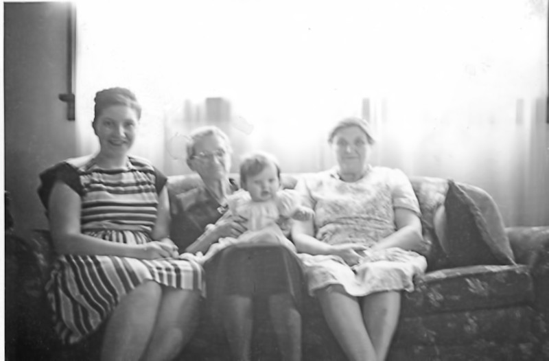 37 Old Nicol Photos - Mom (Gretchen), Grandma Krebbs, Pam, Grandma Nicol