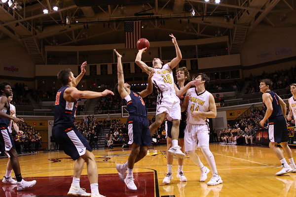 Calvin vs. Hope Men's Basketball - 2/3/18
