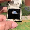 2.50ctw Emerald Cut Diamond 3-stone Ring, GIA E VS1 24