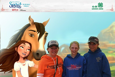 Spirit Riding Free at the Oregon State Fair Day 2