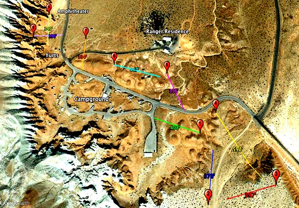 Goblin Valley State Park (Disk Golf Course Map)
