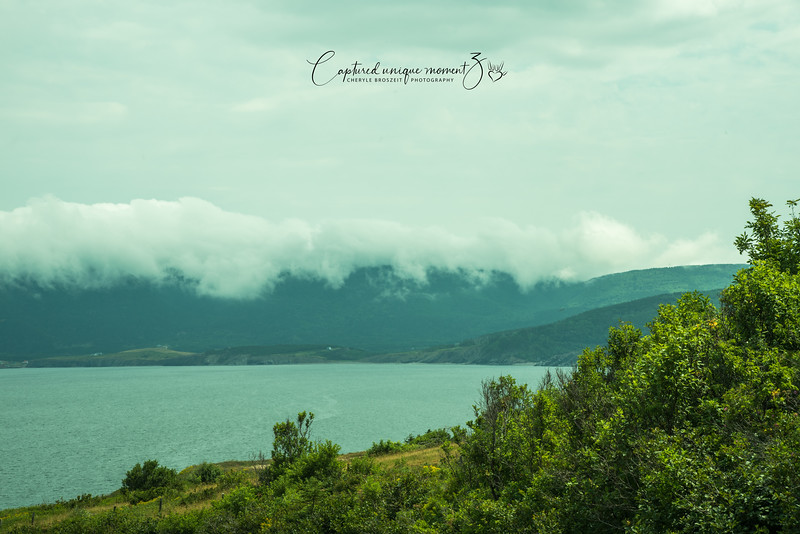Cloud over Cape Breton