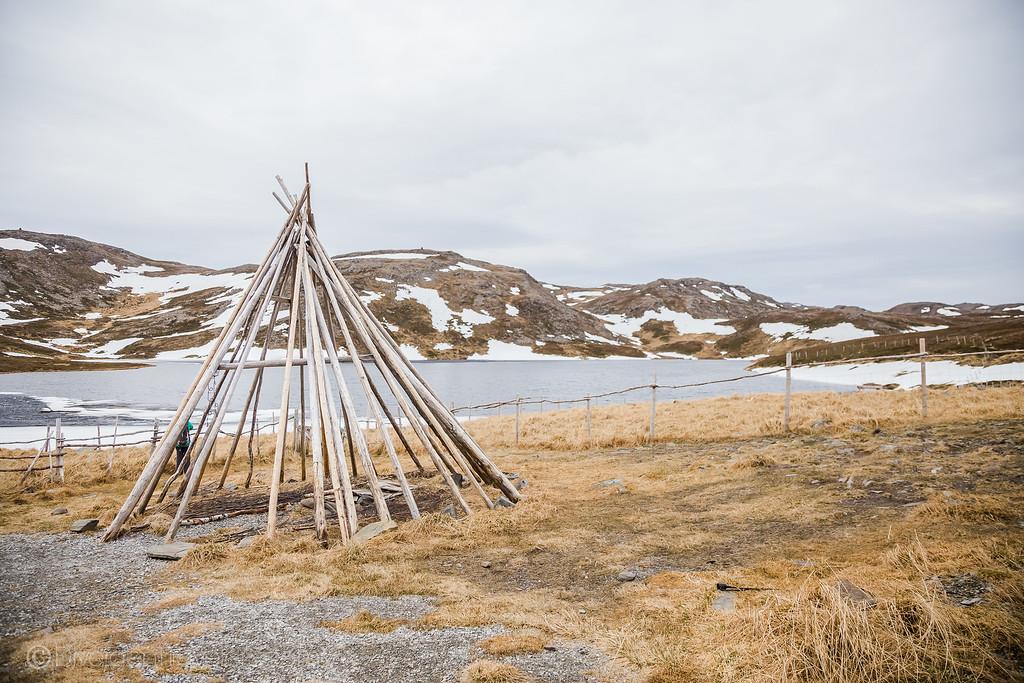 Norway photos - Nordkapp Sami Tribe - Lina Stock