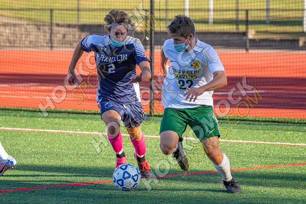 Franklin-King Philip Boys Soccer - 10-14-20