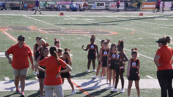 Natalie Cheerleading Oviedo Oct 2014