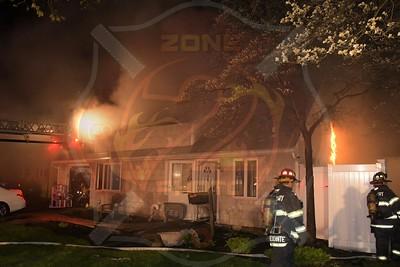 Westbury F.D. Working Fire   Cobalt Lane 4/26/20