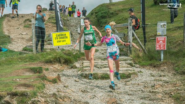 Ras yr Wyddfa - Giât Mynydd Descent at 8.5 Miles