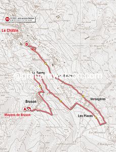 Prologue: La Chable > Bruson, 7.1kms (ITT)