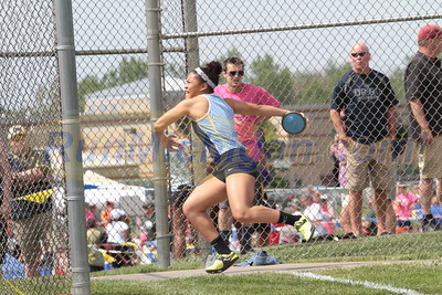 Discus Girls - 2016 MHSAA LP D1 TF Finals