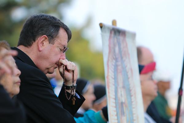 2014-09-20 Helpers Prayer Vigil with Abp Vigneron