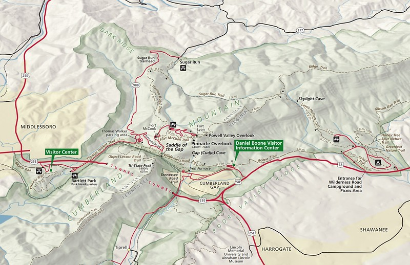 Cumberland Gap National Historical Park (Cumberland Gap Area)