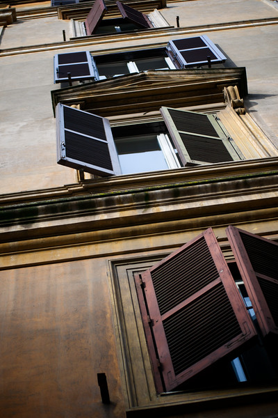 Shutters - Rome, Italy