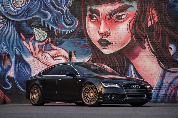 Audi A7 | AccuAir | Avant Garde