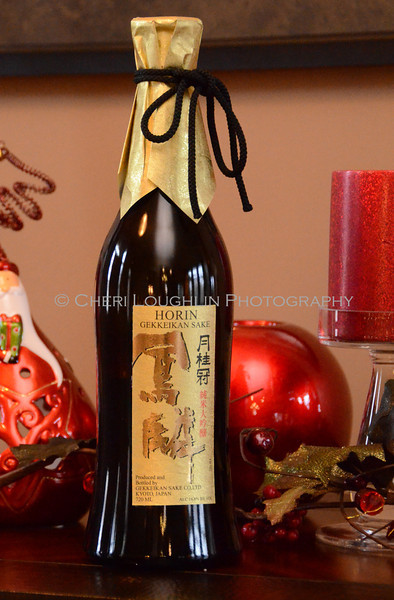 Horin Gekkeikan Sake - Cheri Loughlin Wine & Spirits Stock Photography