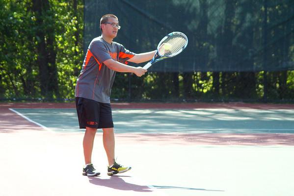 Varsity Tennis at VIC Conference Tournament