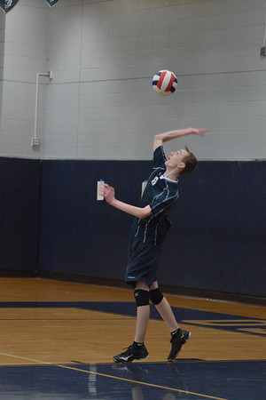 OE boys Soph. volleyball Vs Plainfield Central 2016-17