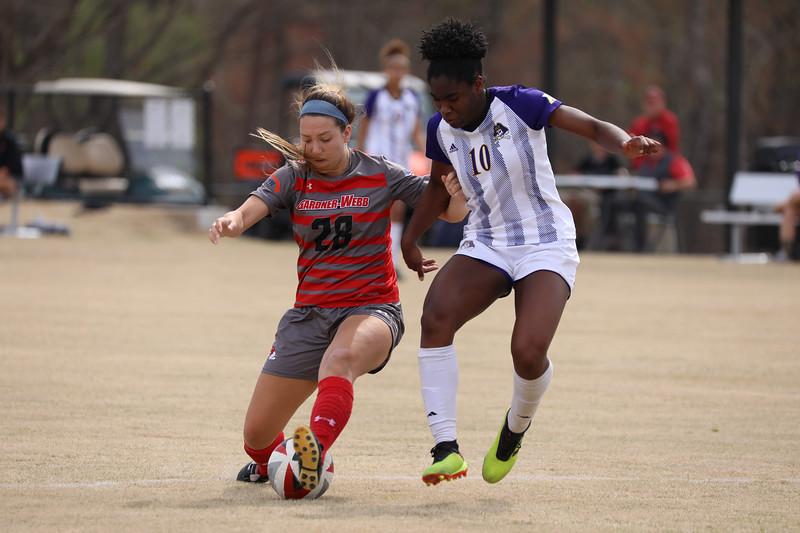Women's Soccer vs. ECU (Spring 2019)
