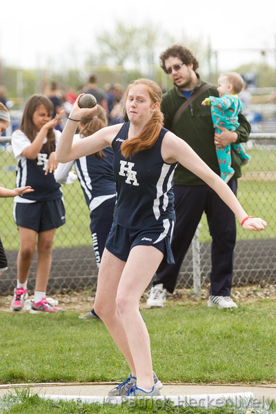 2016-05-03 Hillsdale Academy Junior High Track at Pittsford