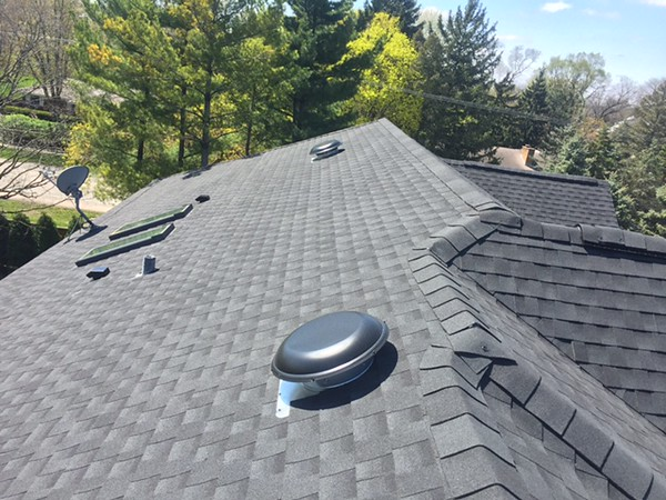 GAF Timberline - Charcoal with Gutters Replacement and Insulation