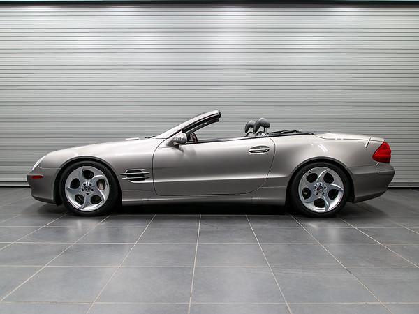 '03 SL500 - Cubanite Silver