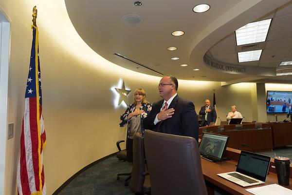 Clear Creek ISD Board of Trustees July Meeting