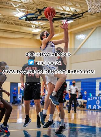2/25/2021 - Boys Varsity Basketball - Biddeford vs Kennebunk